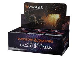 Display sobre MTG Draft Forgotten Realms (español)