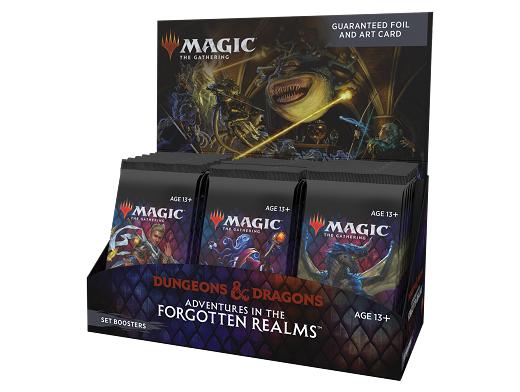 Display sobres MTG Set Forgotten Realms (inglés)