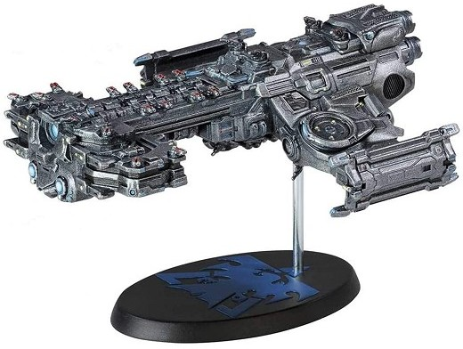 Réplica Starcraft: Terran Battlecruiser Ship