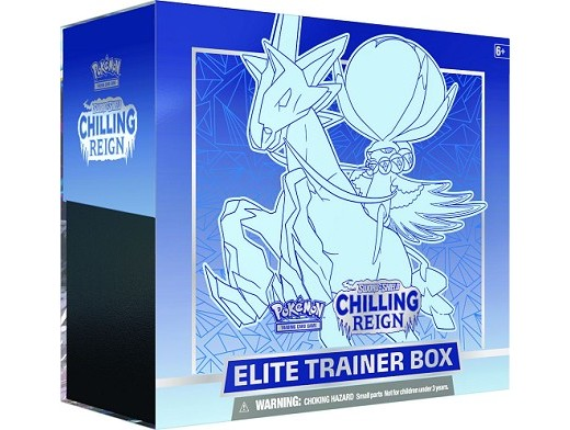 Pokémon TCG Chilling Reign Elite Trainer Ice