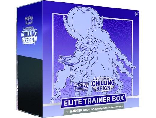 Pokémon TCG Chilling Reign Elite Trainer Shadow