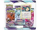 Pokémon TCG 3-Pack Reinado Escalofriante Snorlax