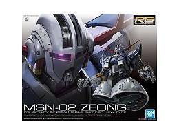 Model Kit Gundam MSN-02 ZEONG RG