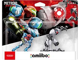 Nintendo amiibo Samus and E.M.M.I. 2-pack set