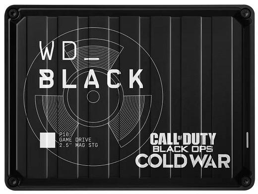 Disco Duro Externo WD_BLACK P10 Ed COD: BOCW