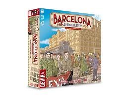 Barcelona La Rosa de Fuego - Juego de mesa