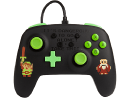 Control con Cable PowerA Retro Zelda