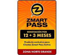 ZMART PASS: Renovación Norte Grande 12+3 meses
