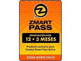 ZMART PASS: Renovación Norte Chico 12+3 meses