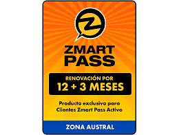 ZMART PASS: Renovación Zona Austral 12+3 meses