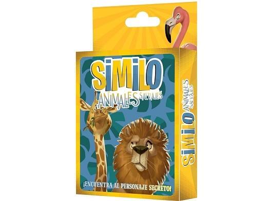 Similo: Animales Salvajes - Juego de Mesa