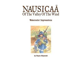 Nausica? Watercolor Impressions (ING) Libro
