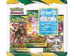 Pokémon TCG 3-Pack Cielos Evolutivos Eiscue
