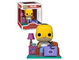 Figura Pop! Deluxe: Simpsons - Homer Watching TV