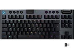 Teclado Logitech G915 TKL (Inglés) Carbón