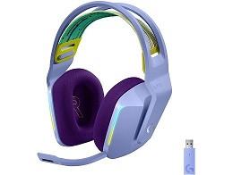 Headset Inalámbrico Logitech G733 Lila