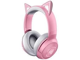 Headset Razer Kraken Bluetooth Kitty Quartz