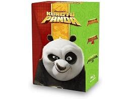Pack trología Kung Fu Panda Blu-Ray (latino)