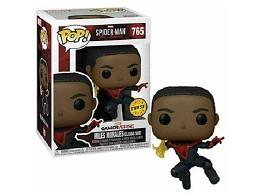 Figura Pop! Spider-Man Miles Morales - Chase