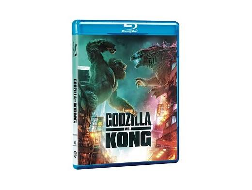 Godzilla vs Kong Blu-Ray (latino)