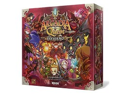 Arcadia Quest Infierno en español - Juego de mesa