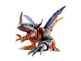 Estatua Digimon Adv Metal Greymon G.E.M. series