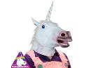 Máscara Cabeza de Unicornio