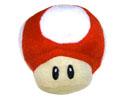 Peluche Mushroom roja de 8 cm