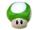 Peluche Mushroom verde de 8 cm
