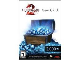Tarjeta Prepago 2000 Gems Guild Wars 2
