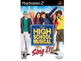High School Musical: Sing It! (solo juego) PS2 Usado