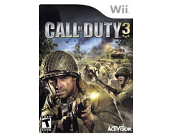 Call of Duty 3 Wii Usado