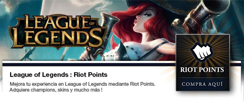 Zmart.cl - League of Legends: Riot Points